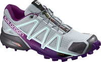 AKCE! Boty Salomon Speedcross 4 W quarry/acai/fair aqua, vel. UK4