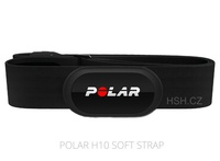 Hrudní vysílač Polar H10 Bluetooth Smart / ANT+ SoftStrap black