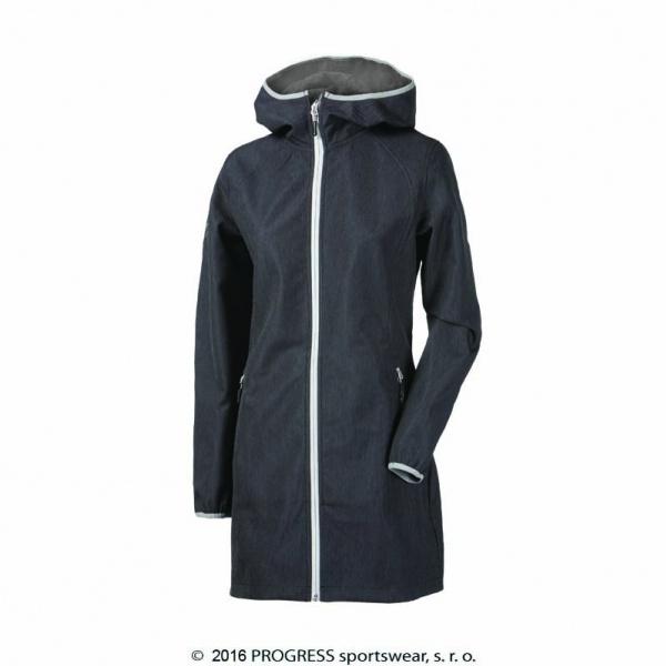 Kabát dámský Progress RIGA softshel šedý e8b7b697a9