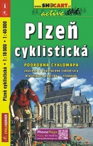 Mapa cyklo Plzeň cyklistická f6a705c0a7