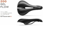 Sedlo Selle Italia ZOO Man Gel Flow Fe black