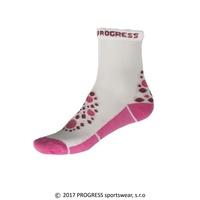 61e4f22a41a Ponožky dětské Progress KSS bílo růžové